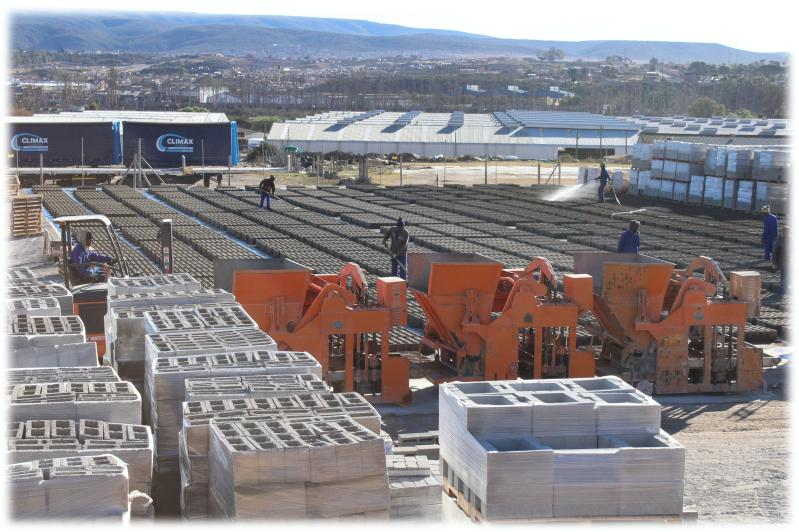 Climax Concrete Blocks Manufacturing