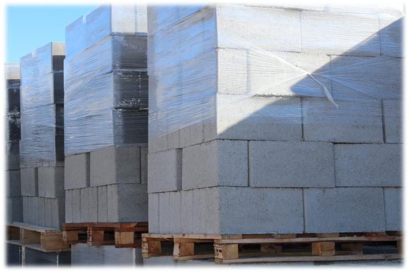 Climax Concrete Blocks Stacked