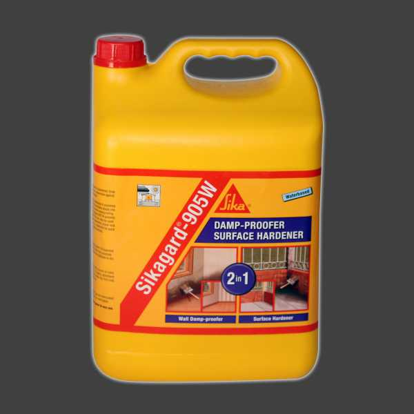 Climax Concrete Sikagard 905w Damp Proofer Surface Hardener 5L Sika 013