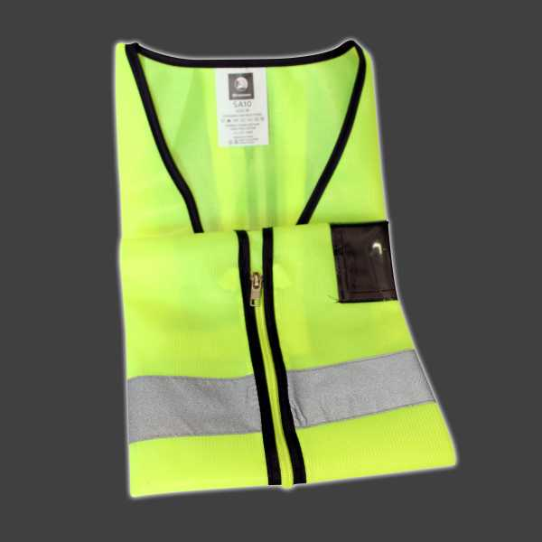Climax Concrete Yellow Safety Jacket Saf 002