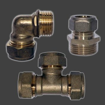 Climax Concrete Brass Fittings Icon-