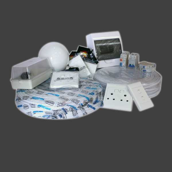 Climax Concrete Electrical Kit Stage 2 ELE001