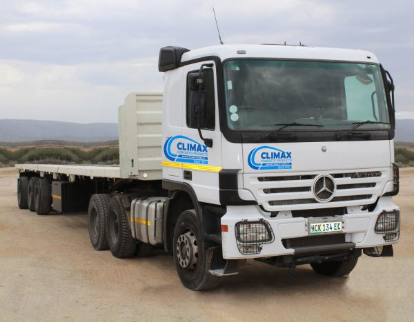 Climax Concrete Long Distance Hauling-